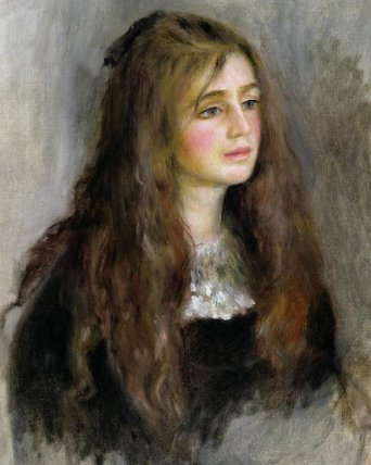Kitty Scherbatsky (Portrait of Julie Manet by Pierre-Auguste Renoir)